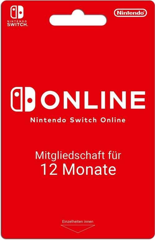 Nintendo Switch Online 12 Monate (365 Tage) für 14,69€ (statt 18€)