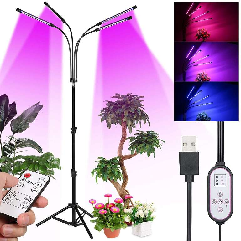 Tomshine 80W LED Pflanzenlampe für 18,05€ inkl. Versand (statt 20€)