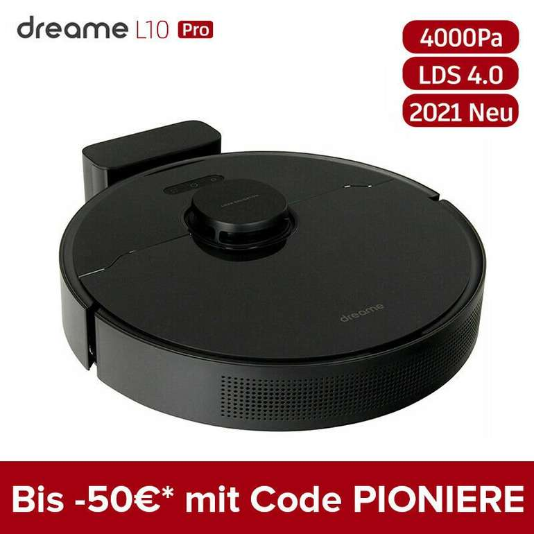 3 in 1 Deal: z. B. Dreame L10 Pro Staubsaugerroboter für 288€ inkl. Versand (statt 328€)