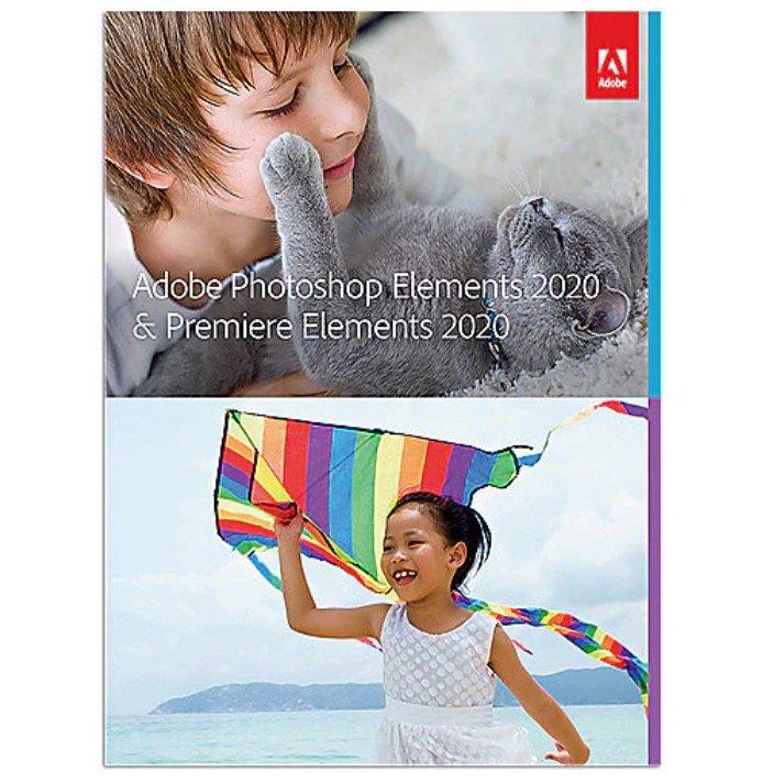 Adobe Photoshop & Premiere Elements 2020 (Minibox mit Datenträger) für 64,90€ inkl. Versand (statt 80€)