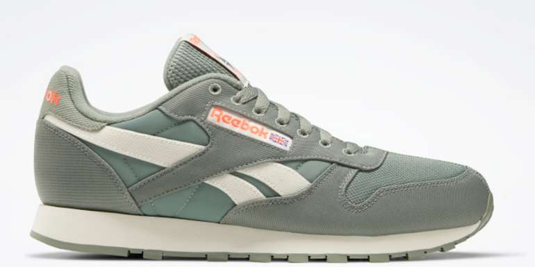 Reebok Classic Leather Herren Sneaker in Grün für 44,55€ inkl. Versand (statt 70€)
