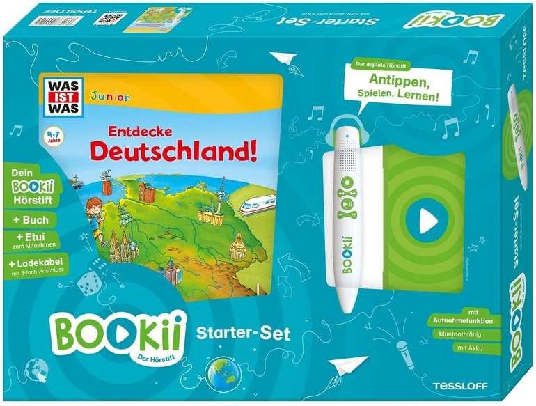 """BOOKii Starter-Set """"Was ist Was Junior - Entdecke Deutschland!"""" für 15,69€ (statt 29€) - Thalia Club"""