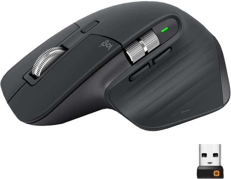Logitech MX Master 3 kabellose Bluetooth Funk-Maus für 79€ inkl. Versand (statt 89€)