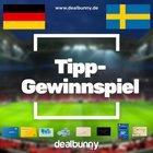 Ausgelost: Deutschland vs. Schweden tippen und 50€ Gutschein gewinnen