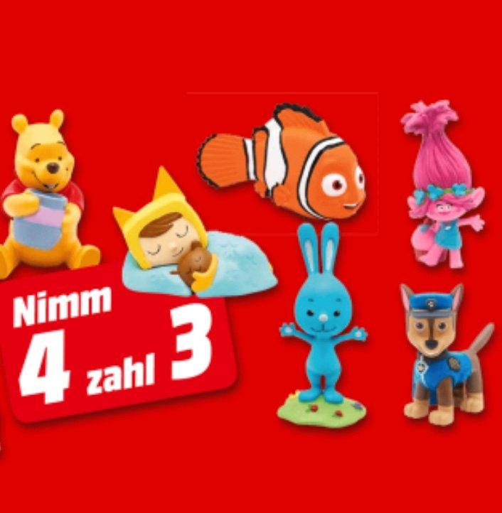 Bis 20 Uhr: Media Markt: 4 Tonies kaufen & nur 3 zahlen - über 280 Figuren zur Auswahl