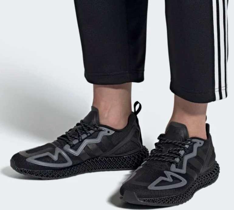 """Adidas ZX 2K 4D Herren Sneaker im """"Triple-Black""""-Colourway für 84€ inkl. Versand (statt 100€)"""