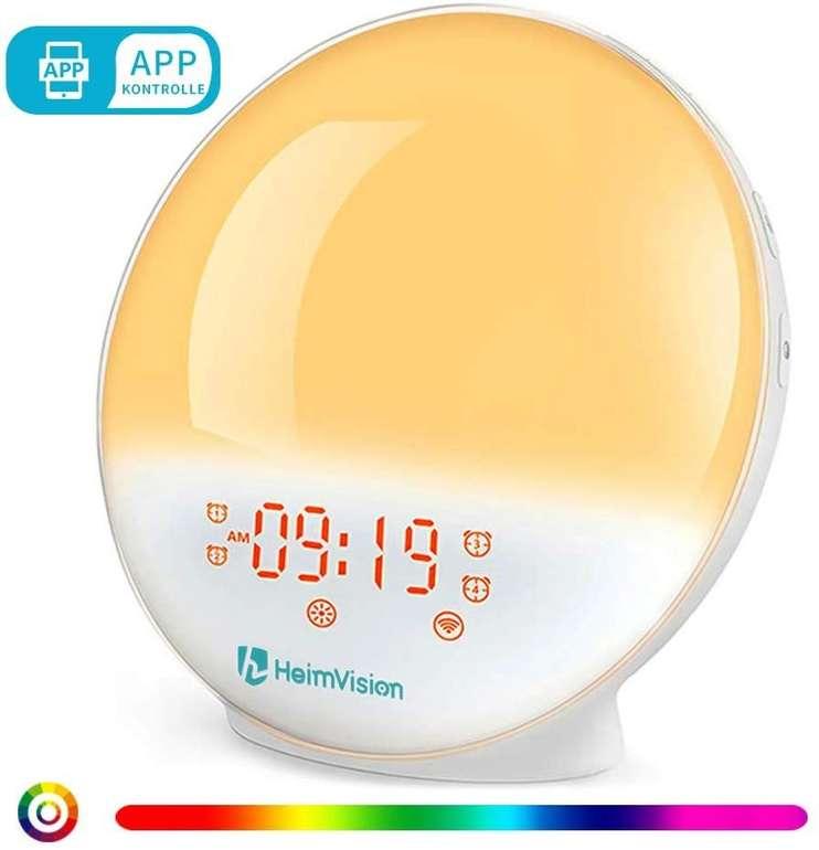 Heimvision Lichtwecker (App, Alexa/Google Home kompatibel) für 30,79€ (statt 38€)