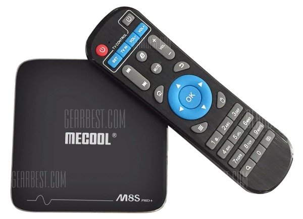 Mecool M8S Pro+ TV Box mit Android 7.1 für 33,16€ inkl. Versand