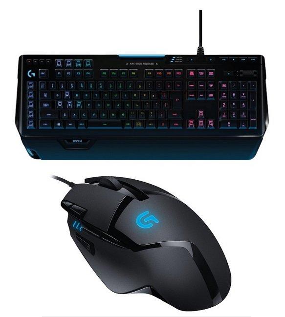 Logitech mechanische Gaming Tastatur G910 + G402 Maus für 99€ (statt 140€)