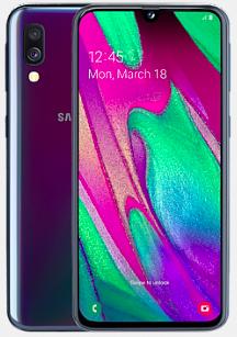 Samsung Galaxy A40 64GB (4,95€) + Blau Allnet-Flat mit 3GB LTE für 14,99€ mtl.