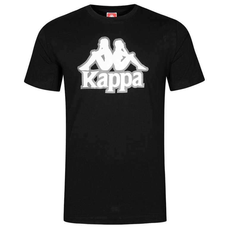 Kappa Vaggelis Herren T-Shirt in schwarz/grau für 12,94€ (statt 19€)