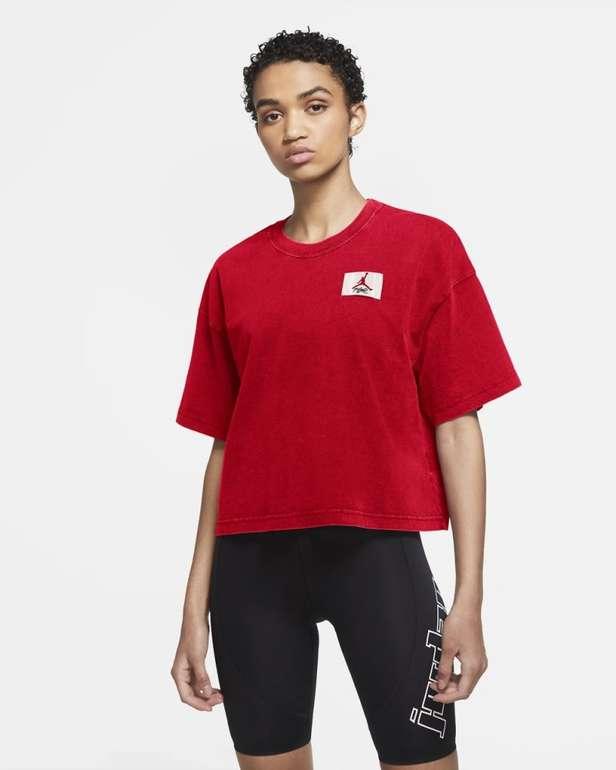 Jordan Essentials Lockeres Kurzarm Damen T-Shirt für 20,98€ inkl. Versand (statt 35€) - Nike Membership!