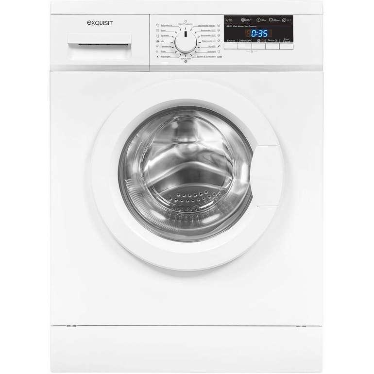 Exquisit WA 8114-3 Waschmaschine (8 kg, 1400 U/Min, A+++) für 279€ inkl. Versand (statt 338€)
