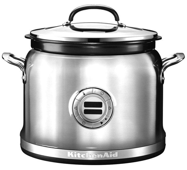 KitchenAid 5KMC4241 ESX Multikocher (700W, Edelstahl) für 125€ inkl. Versand