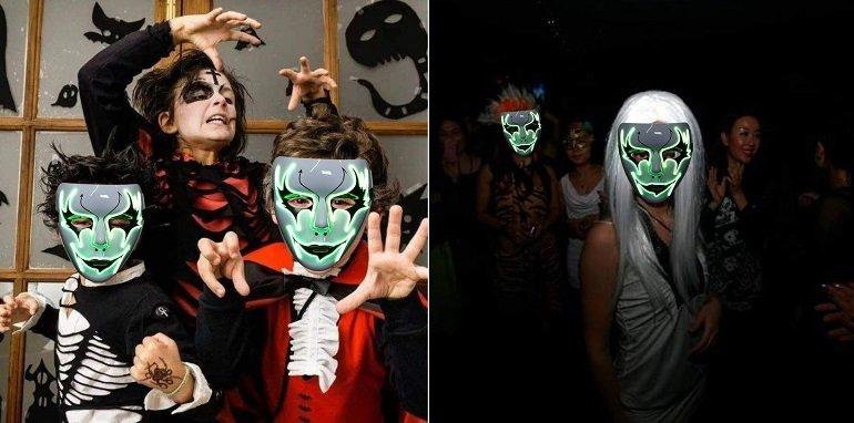 Legendog LED Halloween Maske