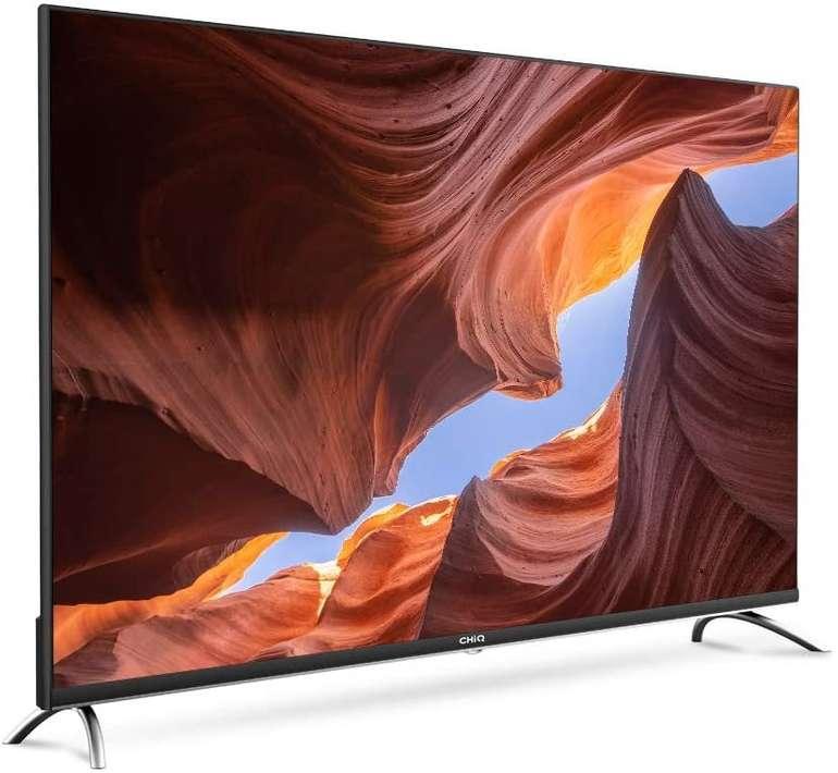 "CHiQ U55H7A - 55"" Fernseher (4K, Version 2020, Ultra HD, Smart-TV mit Android, A) für 355,79€ (statt 408€)"