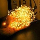 iEGrow - 30m Lichterkette mit 300 LEDs & Fernbedienung für 12,49€ mit Prime