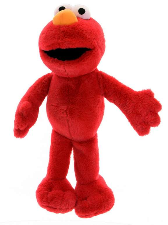 Sambro Sesamstraße Plüschfigur Elmo (63cm) für 14,99€inkl. Versand (statt 17€)