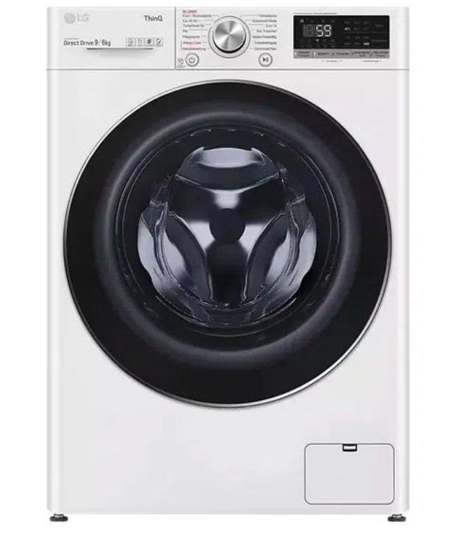 LG V5WD961 Waschtrockner (9kg waschen, 6kg trocknen, 1370 U/Min.) für 639€ (statt 698€) - Newsletter!