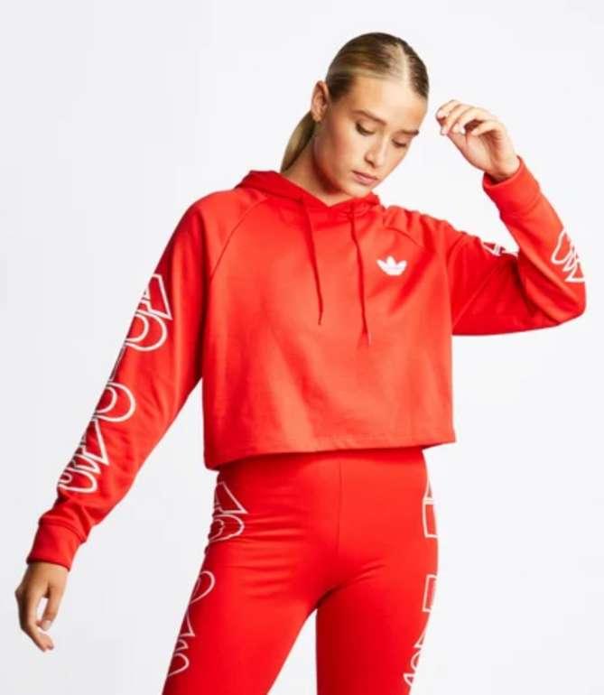 Adidas Cropped Letter Hoodie für 39,99€ inkl. Versand (statt 48€)