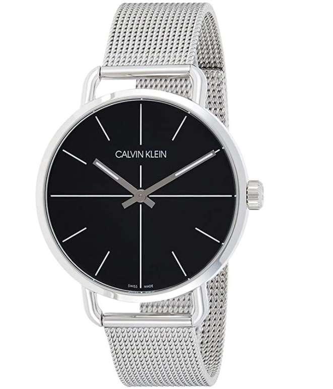 Calvin Klein Unisex Quarz Uhr mit Edelstahl Armband (K7B21121) für 99,99€ inkl. Versand (statt 149€)