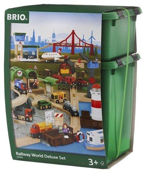 Brio 33766 Railway - Großes Premium Set nur 99€ inkl. Versand (statt 233€)