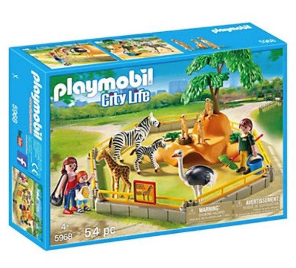 Playmobil Spielzeug Sale mit bis -65% - z.B. Playmobil City Life Zoo Gehege für 20,98€