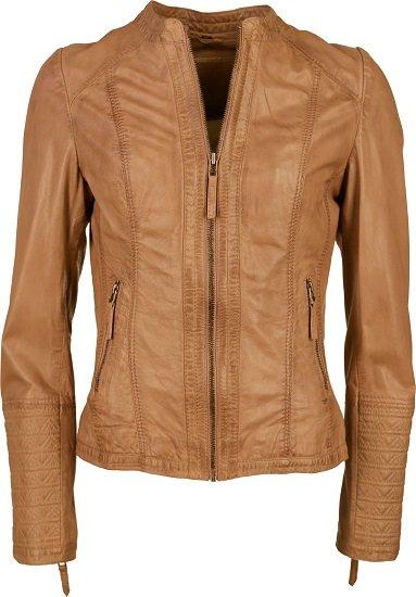 Mustang Lucia Damen Lederjacke für 112,46€ (statt 150€)