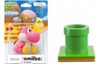 Nintendo Spielfigur amiibo Woll-Yoshi in Pink + Warp-Pipe für 11,98€ inkl. VSK