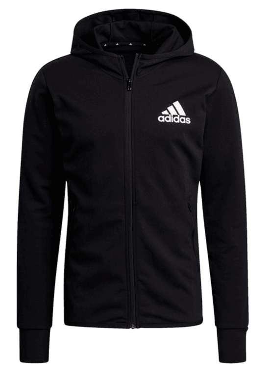 adidas Kapuzenjacke MT HD Training schwarz oder grau für 34,95€ inkl. Versand (statt 48€)