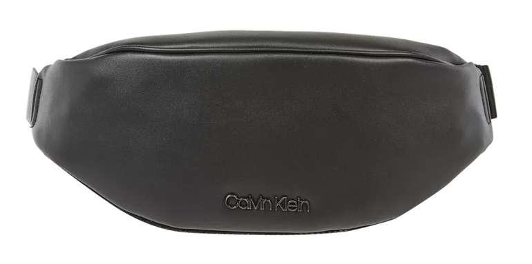Calvin Klein Bauchtasche in Leder-Optik in Schwarz für 19,99€inkl. Versand (statt 40€)