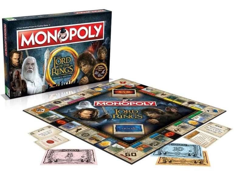 Hasbro Monopoly - Lord of the Rings für 29,90€ inkl. Versand (statt 40€) - Englisch