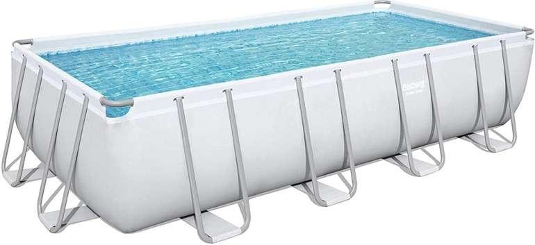 Bestway Power Steel Frame Pool Komplett-Set (549 x 274 x 122cm) für 703,95€