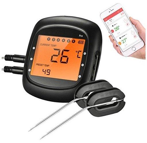 Topelek Bluetooth-Grillthermometer für 21,99€ inkl. Versand (Prime)