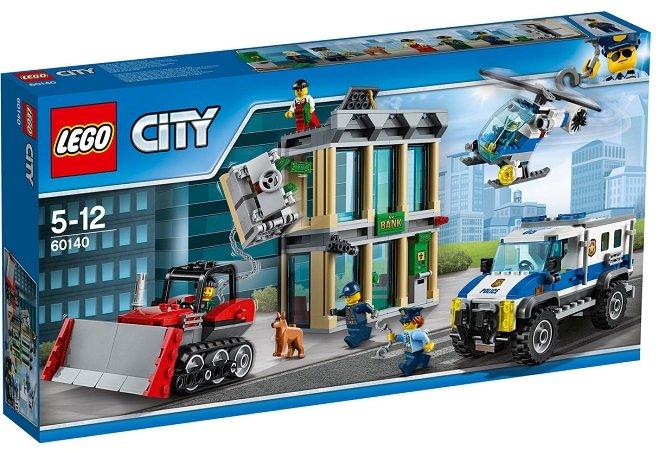 LEGO City (60140) Bankraub mit Planierraupe für 39,99€ (statt 60€) - EOL Set!