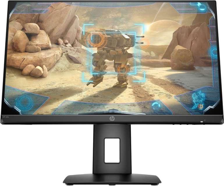 "HP 24x - 23,8"" FHD Monitor (LED, 144 Hz, 1 ms) für 152,99€ inkl. VSK"