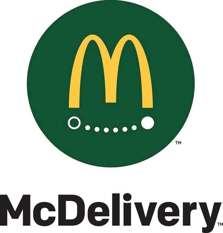 McDelivery: 3€ Rabatt auf die Bestellung