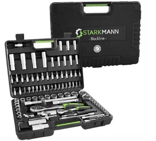 Starkmann Blackline Werkzeugset 94-tlg. für 44,94€ inkl. Versand