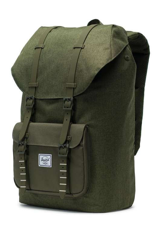 "Herschel Supply Rucksack ""Little America"" in ""Olive Night"" für 51,89€ inkl. VSK"
