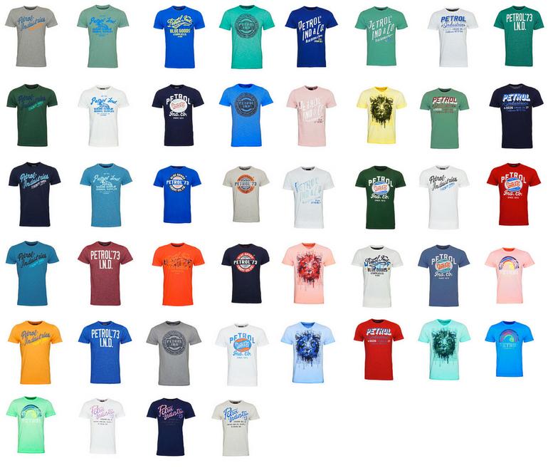 Petrol Industries T-Shirts mit Motiv SS18 für 13,49€ inkl. Versand (statt 20€)