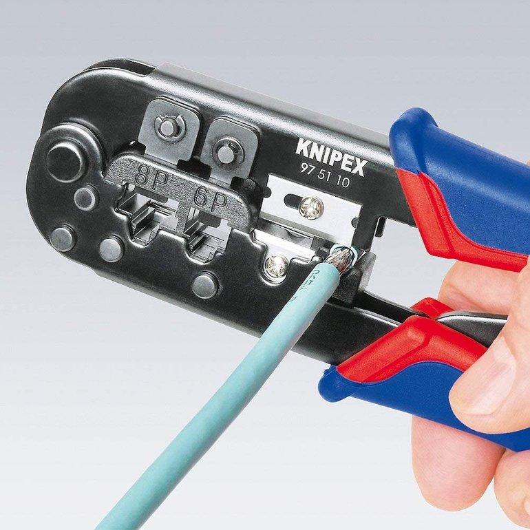 Knipex Crimpzange für Westernstecker 190mm je 15,81€ inkl. Versand (statt 20€)