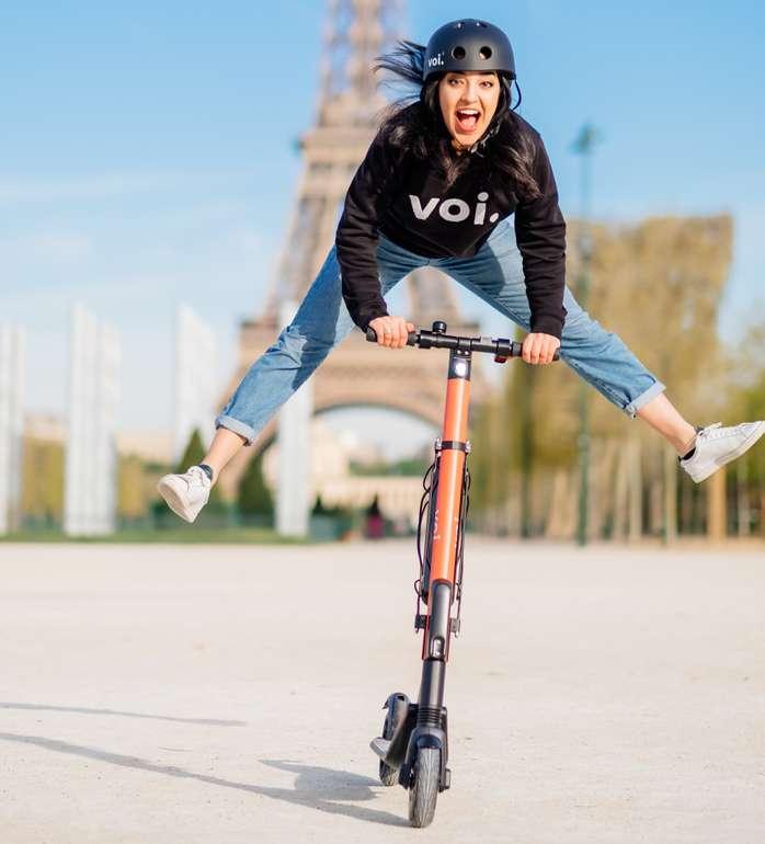 10€ Voi (Shared E-Scooter Anbieter) Guthaben - auch für Bestandskunden