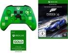 Xbox One Minecraft Controller + Forza Motorsport 6 + 3 Monate Live Gold für 66€