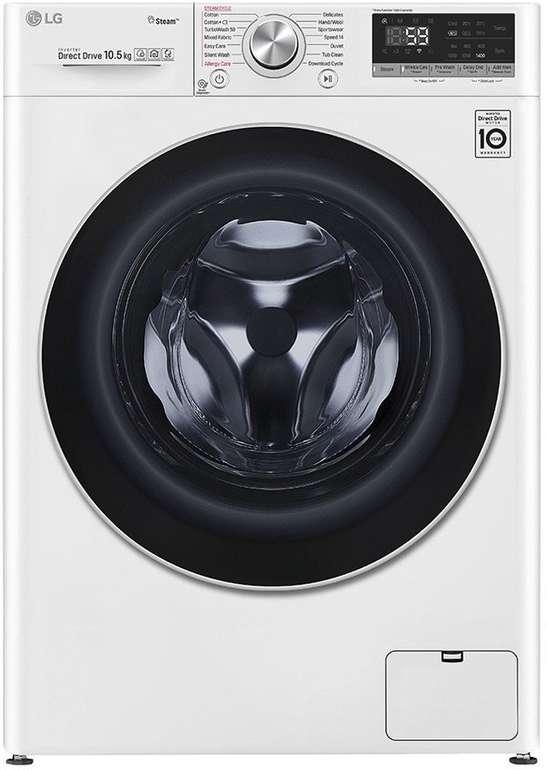 """LG Serie 7 Waschmaschine """"F4WV710P1"""" (10.5 kg, Frontlader, 1400 U/Min) für 516,33€ inkl. Versand (statt 637€)"""