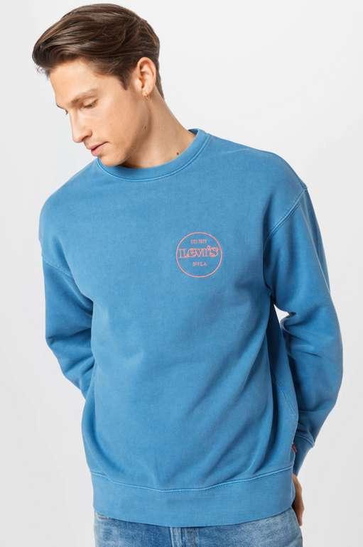 Levi's Herren Sweatshirt in himmelblau für 34,90€inkl. Versand (statt 49€)