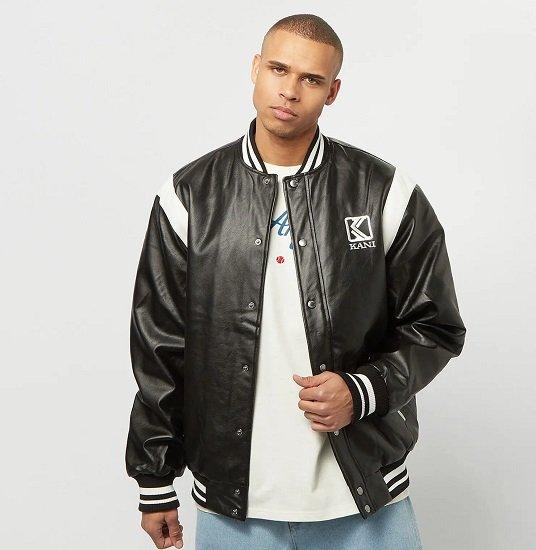 Karl Kani OG Fake Leather Jacket für 64€ (statt 120€)