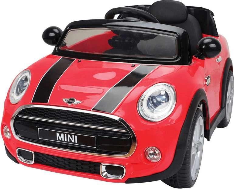 Jamara Ride-on Kinder-Elektroauto Mini Cooper in rot (12V) für 126,18€ inkl. Versand (statt 157€)