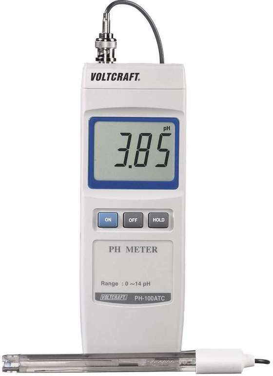 Voltcraft PH-100 ATC pH-Messgerät für 33€ inkl. Versand (statt 89€)