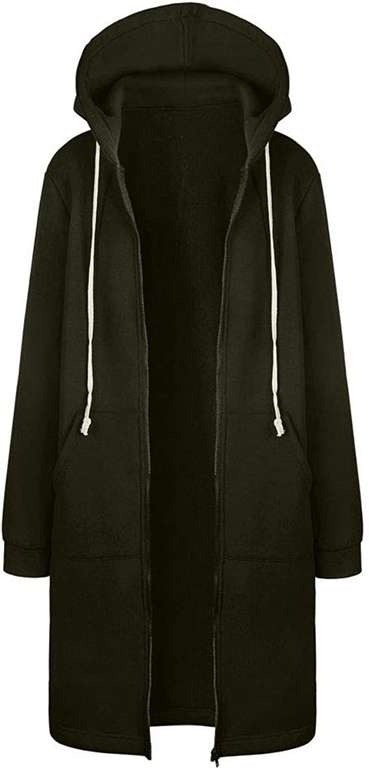 Uribaky lange Damen Kapuzenjacke ab 12,90€ inkl. Versand (statt 20€)