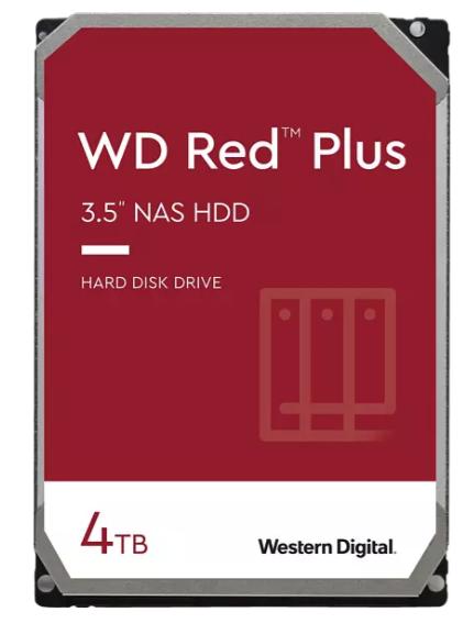 WD Red™ Plus NAS-Festplatte mit 4 TB (HDD, 3,5 Zoll, intern) für 90,94€ inkl. Versand (statt 106€) - Newsletter!